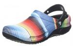Crocs-Bistro-Graphic-Clog-Zuecos-Unisex-Adulto-Multicolor-BlackMulti-Stripe-0n8-4546-EU-0