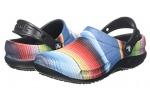 Crocs-Bistro-Graphic-Clog-Zuecos-Unisex-Adulto-Multicolor-BlackMulti-Stripe-0n8-4546-EU-0-4