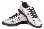 POLERO-Nurse-Bear-Zapatillas-de-enfermeria-para-Mujer-para-Correr-Caminar-Cordones-Zapatillas-Zapatillas-de-Deporte-con-Dibujos-Animados-36-41-EU-Color-Talla-35-EU-0-16