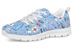 POLERO-Nurse-Bear-Zapatillas-de-enfermeria-para-Mujer-para-Correr-Caminar-Cordones-Zapatillas-Zapatillas-de-Deporte-con-Dibujos-Animados-36-41-EU-Color-Talla-35-EU-0-18