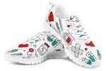 POLERO-Nurse-Bear-Zapatillas-de-enfermeria-para-Mujer-para-Correr-Caminar-Cordones-Zapatillas-Zapatillas-de-Deporte-con-Dibujos-Animados-36-41-EU-Color-Talla-35-EU-0-28
