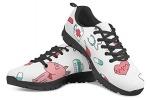 POLERO-Nurse-Bear-Zapatillas-de-enfermeria-para-Mujer-para-Correr-Caminar-Cordones-Zapatillas-Zapatillas-de-Deporte-con-Dibujos-Animados-36-41-EU-Color-Talla-35-EU-0-3