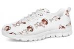 POLERO-Nurse-Bear-Zapatillas-de-enfermeria-para-Mujer-para-Correr-Caminar-Cordones-Zapatillas-Zapatillas-de-Deporte-con-Dibujos-Animados-36-41-EU-Color-Talla-35-EU-0-6
