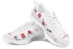 POLERO-Nurse-Bear-Zapatillas-de-enfermeria-para-Mujer-para-Correr-Caminar-Cordones-Zapatillas-Zapatillas-de-Deporte-con-Dibujos-Animados-36-41-EU-Color-Talla-38-EU-0-3