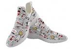 POLERO-Nurse-Zapatillas-de-Deporte-para-Mujer-Zapatos-Deportivos-Zapatos-con-Cordones-para-Mujer-Zapatos-para-Caminar-livianos-Zapatos-de-Tenis-Zapatos-para-Correr-de-Malla-para-Mujer-35-UE-0
