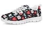 POLERO-Sneaker-Zapatillas-de-Deporte-Nurse-Bear-Electrocardiograma-para-Dama-Mujer-con-Cordones-36-Talla-Europea-0