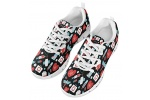 POLERO-Sneaker-Zapatillas-de-Deporte-Nurse-Bear-Electrocardiograma-para-Dama-Mujer-con-Cordones-36-Talla-Europea-0-2
