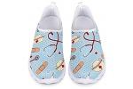 POLERO-Zapatillas-sin-Cordones-con-Estampado-de-Enfermera-para-Mujer-Zapatillas-de-Caminar-Planas-de-Malla-Transpirable-Casual-Zapatos-de-Trabajo-livianos-Senderismo-Trotar-Azul-36-UE-0-2