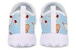 POLERO-Zapatillas-sin-Cordones-con-Estampado-de-Enfermera-para-Mujer-Zapatillas-de-Caminar-Planas-de-Malla-Transpirable-Casual-Zapatos-de-Trabajo-livianos-Senderismo-Trotar-Azul-36-UE-0-3