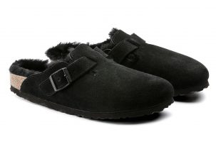 Zueco de invierno Birkenstock Boston Shearling