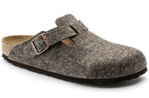 Birkenstock Boston Wool Felt - Zueco de invierno