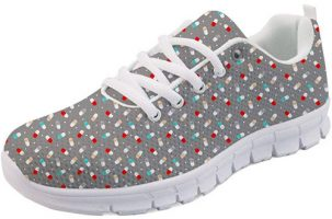 Zapatilla de enfermera Coloranimal Happy Pills