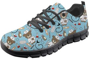 Zapatilla de enfermera Coloranimal Pediatrics Nurse Bear-4
