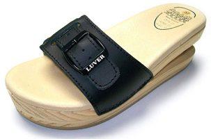Luver 2103/A Negro - Zueco con muelle