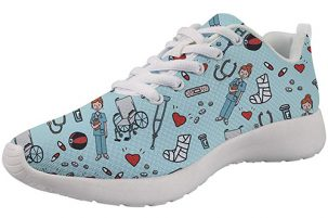 Showudesigns Nurse Print Blue