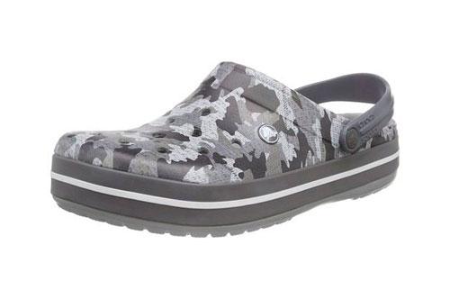 Zueco estampado Crocs Crocband Camo