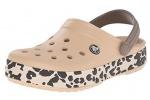 Zueco estampado Crocs Crocband Leopard - Zueco estampado