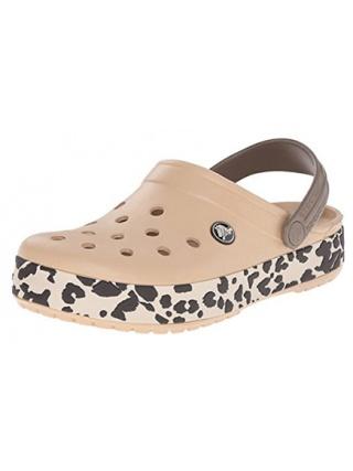 Crocs Crocband Leopard - Zueco estampado