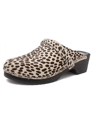 Gunnels Falun Leopardo - Zueco estampado