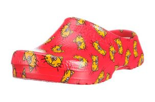 Zueco estampado Birki's Super Birki Cat Red