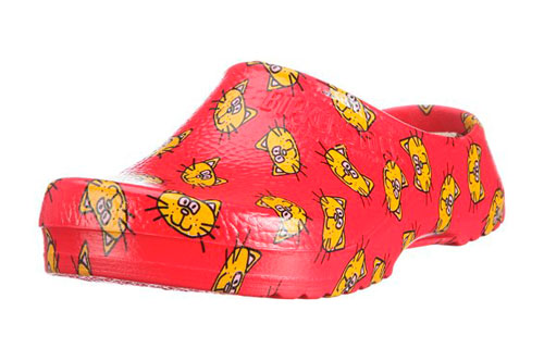 Zueco estampado Birki's Super Birki Cat Red - Zueco estampado