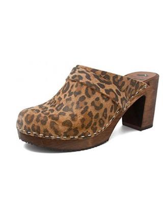 Gunnels Trelleborg Leopardo - Zueco estampado