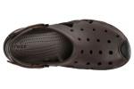 zueco-hombre-swiftwater-crocs-marron-4
