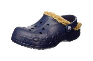 Zueco de invierno Crocs Baya con forro