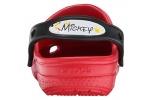zueco-mickey-plaint-splatter-crocs-rojo-2