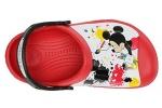 zueco-mickey-plaint-splatter-crocs-rojo-4