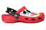 zueco-mickey-plaint-splatter-crocs-rojo-5