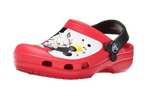 Zueco Niño Crocs Mickey Mouse Paint Splatter