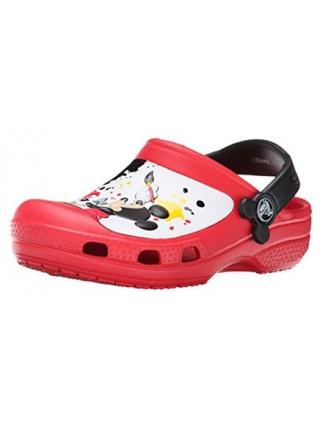 Crocs Mickey Mouse Paint Splatter
