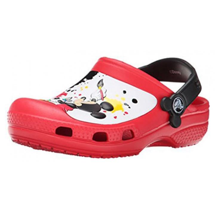 Crocs Mickey Mouse Paint Splatter - Zueco Niño