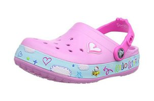 Crocs Crocband Hello Kitty Plane