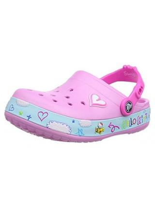 Crocs Crocband Hello Kitty Plane