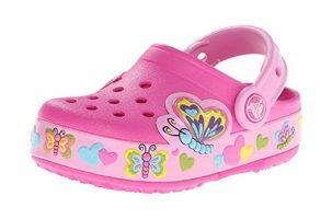 Crocs CrocsLights Butterfly - Zueco Niña