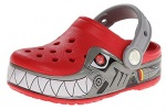 Crocs CrocsLights Robo Shark - Zueco Niño