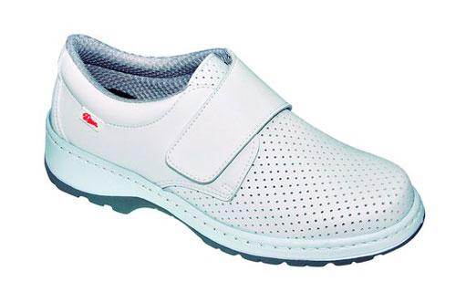 Zapato sanitario Dian Milán SCL Picado White - Zapato sanitario